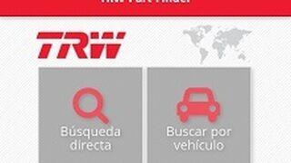 TRW lanza una nueva app de búsqueda de piezas para Europa y Asia