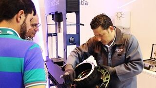 Los montajes de Fersa despertaron interés en Motortec