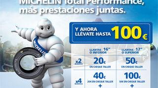 Michelin regala hasta 100 euros por cambiar cubiertas