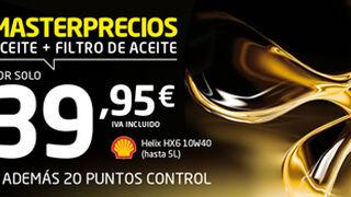Euromaster cambia aceite y filtro por 40 euros