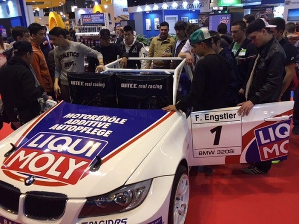 Liqui Moly patrociona el equpo Egstler Motorsport del WTCC.