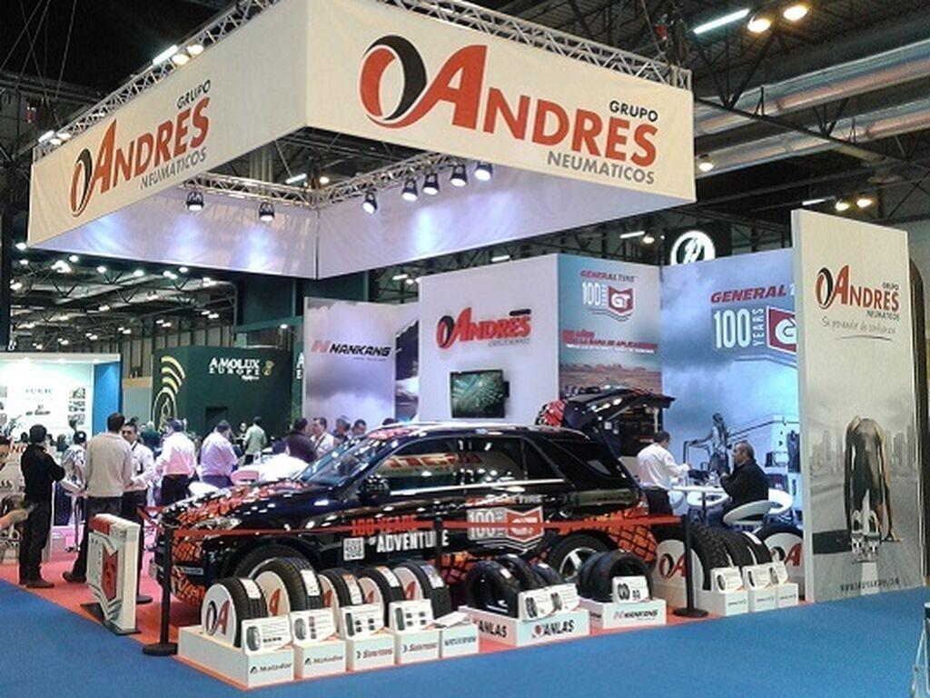 Stand de Grupo Andrés.