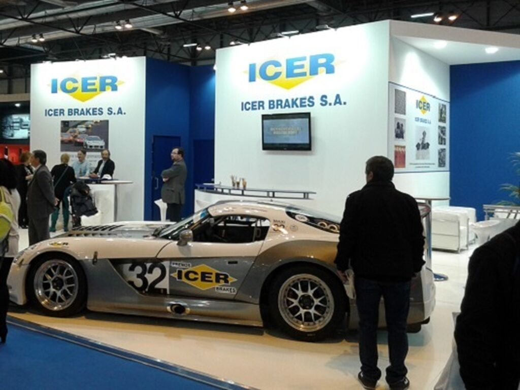 Stand de Icer Brakes