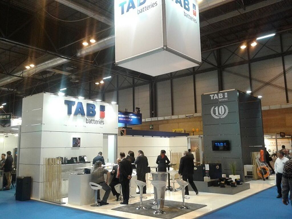 Stand de TAB Spain.