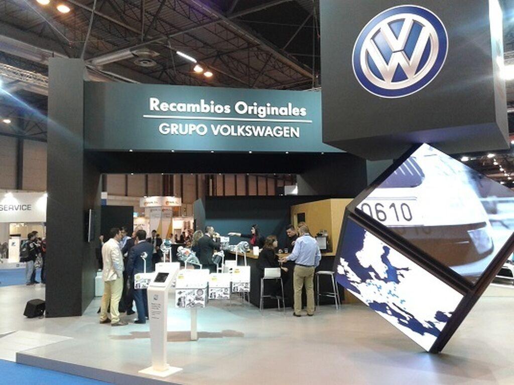 Stand de Volkswagen.