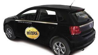 Midas ofrecerá coche de cortesía en su red de talleres