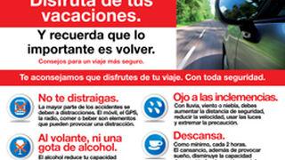 Los talleres de Madrid colaboran con una campaña de seguridad vial