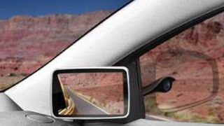 Los retrovisores laterales del futuro irán dentro del vehículo