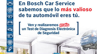 Bosch Car Service regala diagnosis de seguridad