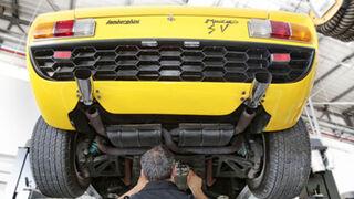 Lamborghini reabre su división de restauración de clásicos
