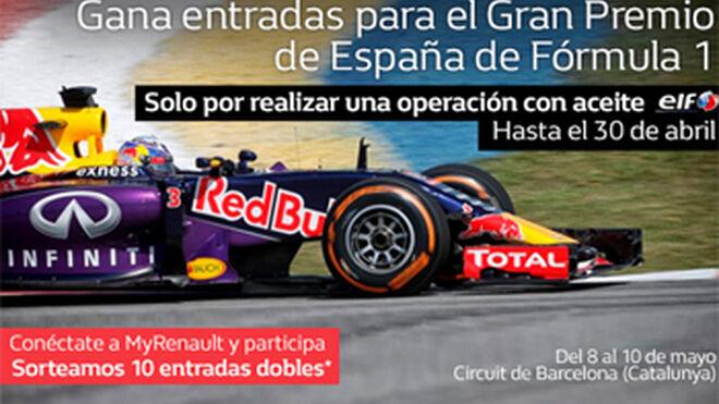 Los talleres Renault sortean entradas para la Fórmula 1