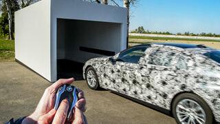 El BMW Serie 7 será el primero en aparcar solo