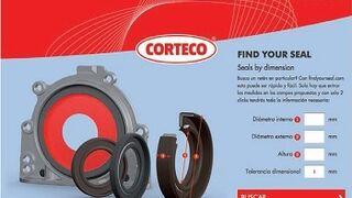 Corteco crea una herramienta online para localizar sus retenes