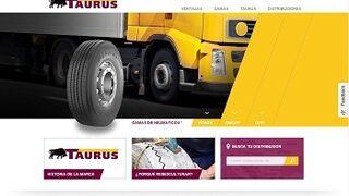 Taurus actualiza su web con nuevo diseño y funcionalidades