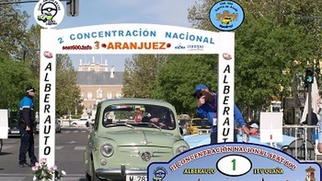 Conepa y Asetra, en la II Concentración Nacional de Seat 600