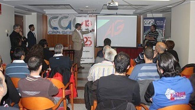 Recambios Gaudí y CGA Car Service presentan sus servicios a talleres de Andorra