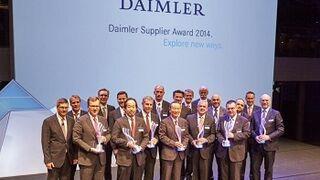 Shell gana el premio 'Daimler Supplier' 2014 al mejor socio