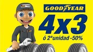 Confortauto pone en marcha una doble promoción para neumáticos Goodyear