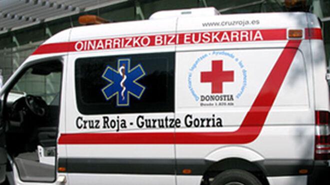 Herido un mecánico en un accidente laboral en San Sebastián