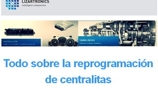 Lizartronics, todo sobre la reprogramación de centralitas