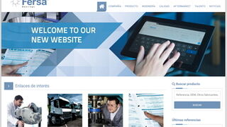 Fersa pone en marcha su nueva web corporativa