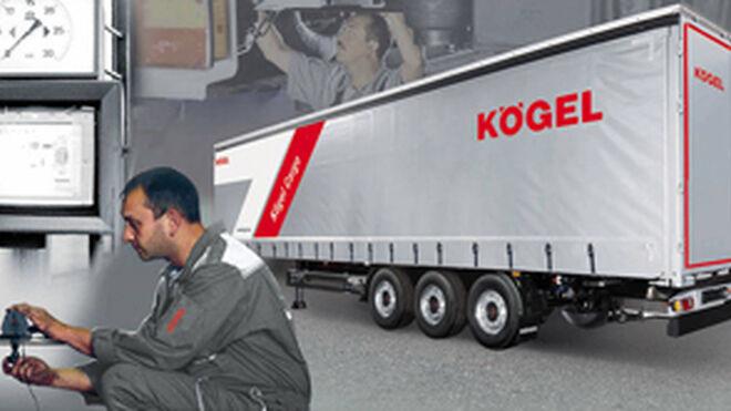Kögel amplía sus paquetes de mantenimiento para remolques