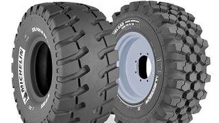 Michelin presenta dos nuevos neumáticos para cargadoras