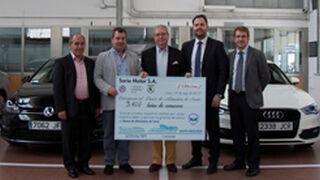 Soria Motor dona comida por cada coche que repara