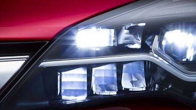 El próximo Opel Astra incorporará iluminación LED matricial IntelliLux