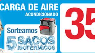 Norauto recarga el aire acondicionado por 35 euros y sortea sacos térmicos