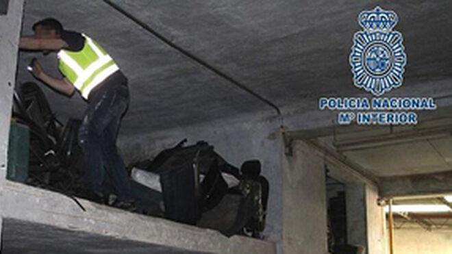 Desmantelan dos talleres ilegales en Murcia