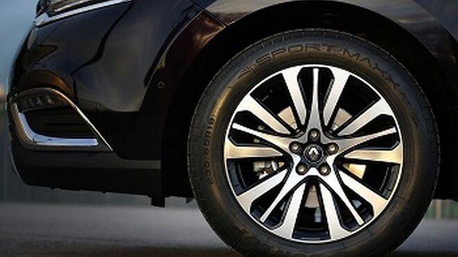 El nuevo Renault Espace, equipado con neumáticos Dunlop Sport Maxx RT
