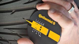 El sector considera seguro el límite legal de 1,6 mm del dibujo de los neumáticos