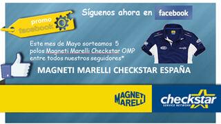 Magneti Marelli sortea polos entre sus seguidores de Facebook