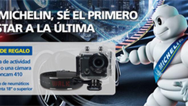 Michelin regala cámaras y pulseras digitales por comprar sus neumáticos