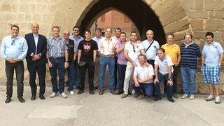 Clientes de Recambios Gaudí en Zaragoza visitan la fábrica de GKN