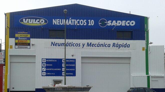 Neumáticos 10, primer taller Vulco-Sadeco tras el acuerdo de integración