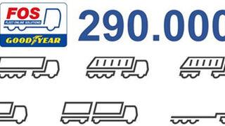 Goodyear FOS atiende ya a unos 290.000 vehículos comerciales en Europa
