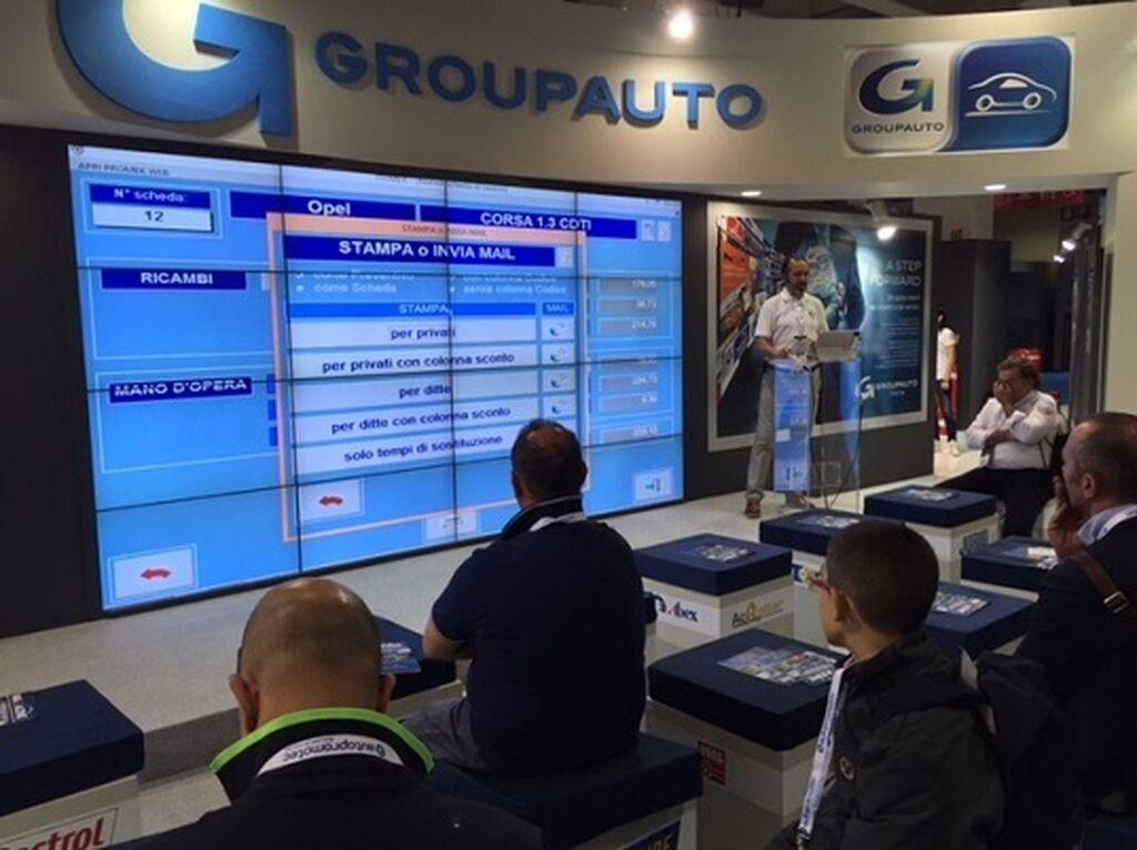 Groupauto muestra a los talleres italianos sus herramientas informáticas.