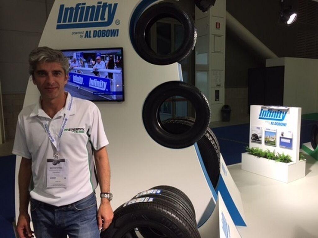 Riccardo Costa, recientemente nombrado director general para Europa de Infinity Tyres.