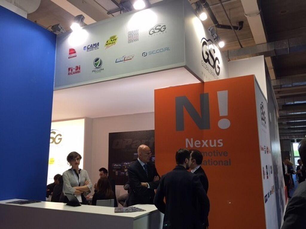 Los grupos internacionales de recambistas, presentes en Autopromotec, incluido Nexus, el más nuevo, en España representado po