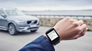 Volvo permite saber cuándo toca la próxima revisión con el iWatch