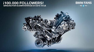 BMW España supera los 100.000 seguidores en Twitter