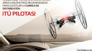 Renault ofrece drones a 10 euros por cambiar la correa de distribución