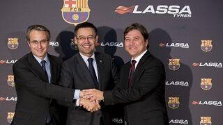 Lassa Tyres, patrocinador del FC Barcelona las próximas cuatro temporadas