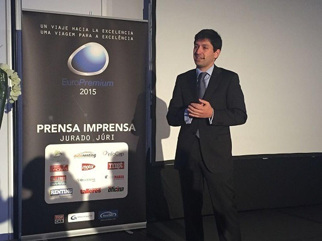 Carlos Calleja, director de Desarrollo de EuroTaller, presentó la gala.