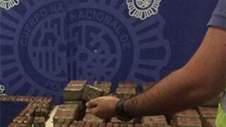 Una banda de narcotraficantes usaba un taller como tapadera