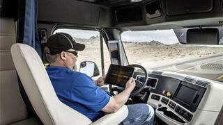 Estados Unidos matricula su primer camión semiautónomo