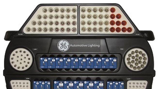 Grovisa regala un expositor al comprar lámparas General Electric