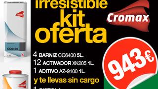 Kit oferta Cromax-Sagola en La Madrileña-Perchán